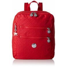 Buy Kipling Women S Bag Kendall Backpack Plover Cherry Red Singapore