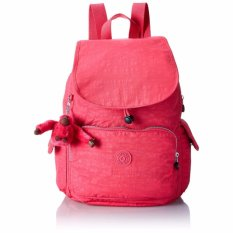 Kipling Women's Ravier Solid Backpack(Watermelon red) - intl