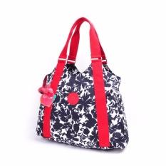 Klpllng New Ladies handbag nylon shopping bag Tote Bags(Black) - intl