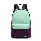 Price Korean Backpacks Patchwork Canvas Sch**L Backpacks For Teenage Girls Fashion College Student Book Bags Bolsas Mochilas Oem Online