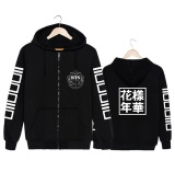 Where To Shop For Korean Fashion Kpop Bts Bangtan Boys Young Forever Album Cotton Hooded Sweatshirts K Pop Zip Up Zipper Hoodies Black Intl