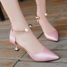 Discounted Korean Ladies High Heels Fashion Pearl S*Xy Sandals Intl