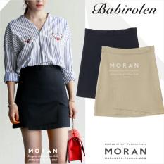 How To Buy Korean Style Autumn And Winter New Style High Waisted Sheath Skirt Irregular Skirts Black