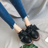 Price Korean Style New Style Waterproof Platform High Heel Chunky Heel Pumps Women S Shoes Black Online China