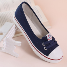 Buy Korean Style Breathable White Shoes Shallow Mouth Canvas Shoes Shen Lan Other Cheap