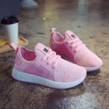 Sale Korean Style Canvas Summer Net Surface Tide Shoes Summer Women S Shoes Pink Online China