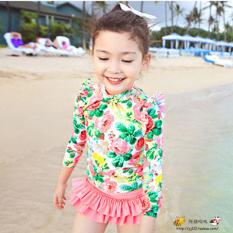 For Sale Korean Style G*rl S Sun Girls Swimwear For Women