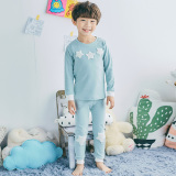 Who Sells Korean Cotton Spring And Autumn G*Rl Women S Pajama Sets Children Pajama Light Blue Light Blue Cheap