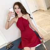 Price Debutante Korean Style Summer Elegant Slim Fit Dress Other Online