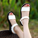 Women S Korean Style Casual Sandals White White For Sale Online