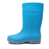 Buy Korean Style Female Jelly Non Slip Rubber Boots Rain Boots Sky Blue Color 338 Online