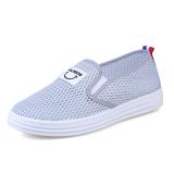 Brand New Korean Female New Flat Sch**L Shoes Tennis Shoes Women S Gray Women S Gray
