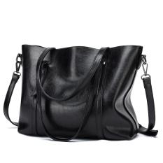 Best Deal Lapulanda Women S Korean Style Shoulder Bag Black Black