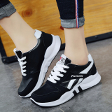 Sale Women S Korean Style Breathable Running Shoes Black Black Marthafuren Online