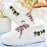 Price Comparison For Female Summer New Style Canvas Shoes Sneakers