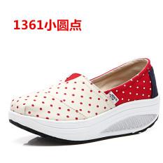 Where To Buy Women S Korean Style Platform Canvas Shake Shoes 1361 Small Dot 1361 Small Dot