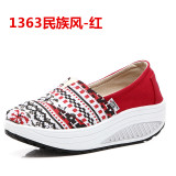 Sale Women S Korean Style Platform Canvas Shake Shoes 1363 National Style 1363 National Style Other Cheap