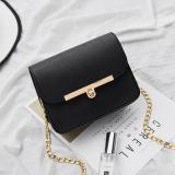 Korean Knot Mini Hand Held Crossbody Bag Fashion Nv Shi Bao Black Black Discount Code