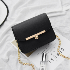 Great Deal Korean Knot Mini Hand Held Crossbody Bag Fashion Nv Shi Bao Black Black