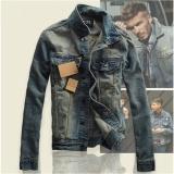 Buy Korean Style Men Boy Fashion Retro Slim Denim Jacket Jeans Casual Coat Intl Cheap China