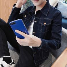 Men S Korean Style Slim Fit Denim Jacket 777 Colors 777 Colors Coupon