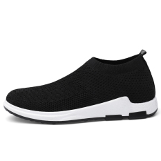 Where Can You Buy Korean Style Slip On Wa Zi Xie Canvas Shoes Black 1208