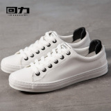 Get Cheap Korean Style Microfiber Leather Autumn New Style Casual Shoes Warrior Shoes