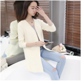 Buy Women S Korean Style Midi Knitted Cardigan Mi Bai Mi Bai