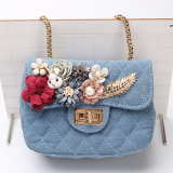 Price Comparisons For Korean Style New Style Flowers Rabbit Quilted Chain Bag