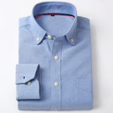 Best Rated Oxford Cloth Spring Long Sleeved Shirt Long Sleeved 4
