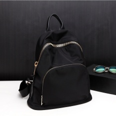 Buy Korean Style Oxford Cloth Travel Shinebager Nylon Shoulder Bag Black Large Oem Original