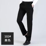 Autumn And Winter Korean Style Slim Fit Business Skinny Suit Pants Men S Trousers Black Online