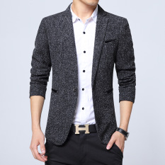 Spring And Autumn Men Leisure Suit Korean Style Slim Fit Youth Small Suit Coat Bian Xi Tops Business Single Xi Bian Zhuang Fashion By Taobao Collection.