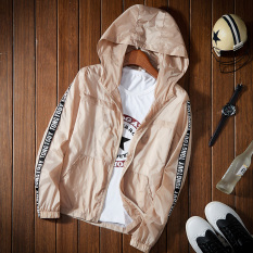 How To Get Korean Style Solid Color Thin Student Baseball Clothes Outdoor Jacket Beige