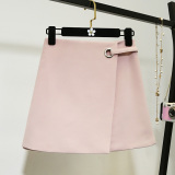 Price Korean Style Summer New Style High Waisted Skirt Pink Color Oem