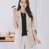 Shop For Korean Style Spring New Style Slimming Women S Coat Beige