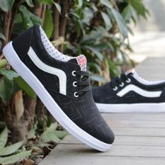 Korean Students Summer Shoes Breathable Canvas Shoes C 9 Black C 9 Black China