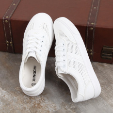 Sale Korean Style White Female Plus Sized Breathable Casual Sneaker Sneakers White Oem Branded