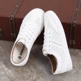 Sale Korean Style White Female Plus Sized Breathable Casual Sneaker Sneakers White Brown Oem