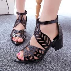 Review Korean Version Of The Fish Head Fish Head Sandals Fashion High Heels Intl China