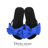 Sale Korean Style New Style Flat Thick Bottomed Sandals Slippers Navy Blue Version2 Navy Blue Version2 Oem Original
