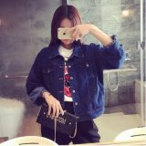 Sale Female Spring New Style Loose Korean Style Denim Long Sleeved Denim Clothing