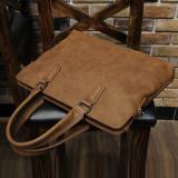 Korean Style Horse Leather Men Shoulder Bags Men S Bag Free Shipping