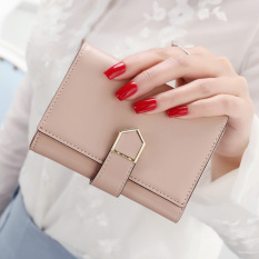 Price South Korea Female Thin Arrow Wallet New Wallet For Women Apricot Pink Apricot Pink Oem New