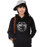 Buy Kuhong Bts Bangtan Boys Hoody Cardigans Sweaters Hoodies Pullover Black Intl Kuhong