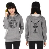 Where Can You Buy Kuhong Bts Bangtan Boys Hoody Cardigans Sweaters Hoodies Pullover Grey Intl