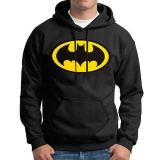 Kuhong Fashion Men Autumn Batman Print Sweatershirt Pullover Casual Long Sleeve Hoodies Black Intl Promo Code
