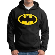 How To Get Kuhong Fashion Men Autumn Batman Print Sweatershirt Pullover Casual Long Sleeve Hoodies Black Intl