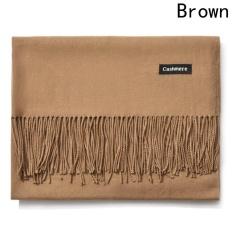Shop For Kuhong New Fashion Winter Warm Women Men Cashmere Scarf Brown Intl