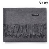 Kuhong New Fashion Winter Warm Women Men Cashmere Scarf Grey Intl On Line